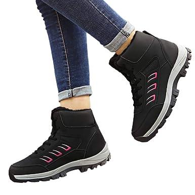 3a1912a6d7dfa Amazon.com: Memela Clearance Sale!!Women Fur Lined Winter Snow Boots ...