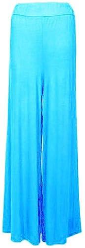 RIDLDEDWITHSTYLE – Pantalón – para mujer azul Turquise UK 8-10