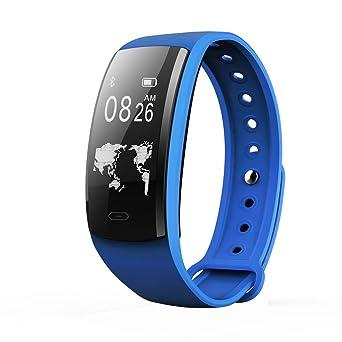 Star_wuvi Smart Watch Heart Rate Blood Pressure Oxygen Fitness Tracker Bracelet BT4.0