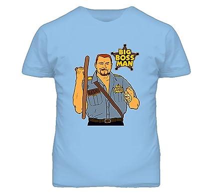 Big Boss Man Wrestling Legend T Shirt Amazoncom