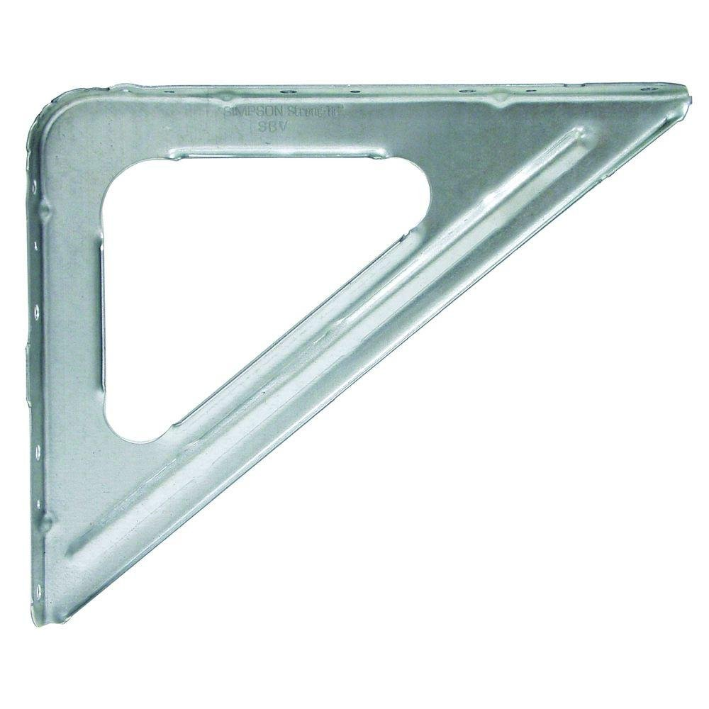 Simpson Strong Tie SBV-24 16-Gauge Shelf Bracket (24-Per Box)