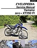 CPP-184-P Yamaha XT250 Motorcycle Print Service Manual by Cyclepedia