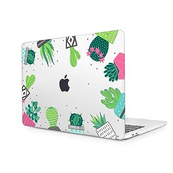 TwoL Carcasa MacBook Air 13 A1932, Ultra Delgado Funda Dura Protector de Plástico Cubierta para MacBook Air 13 Pulgadas 2018 con Retina Display/Touch ...