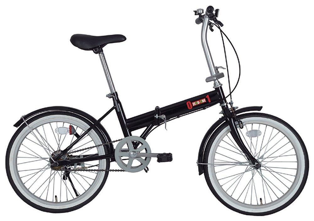 ミムゴ(MIMUGO) ZERO-ONE 折りたたみ自転車 20インチ ブラック MG-ZRE20-BK B00972QB5A