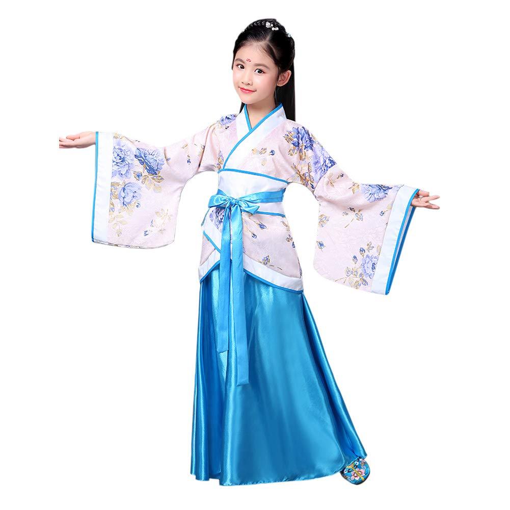 Xinvivion Estilo Chino Hanfu Vestido Antiguo Tradicional Ropa Elegante Retro Tang Suit Traje de Rendimiento