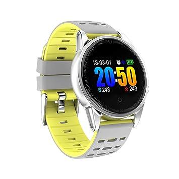 Fitness Watch, pantalla a color impermeable IP67 Smartwatch Rastreador de ejercicios con monitor de ritmo cardíaco Monitor de sueño Pasos Contador de ...