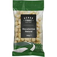 Genoa Foods Macadamias Natural, 200 g, Macadamias Natural