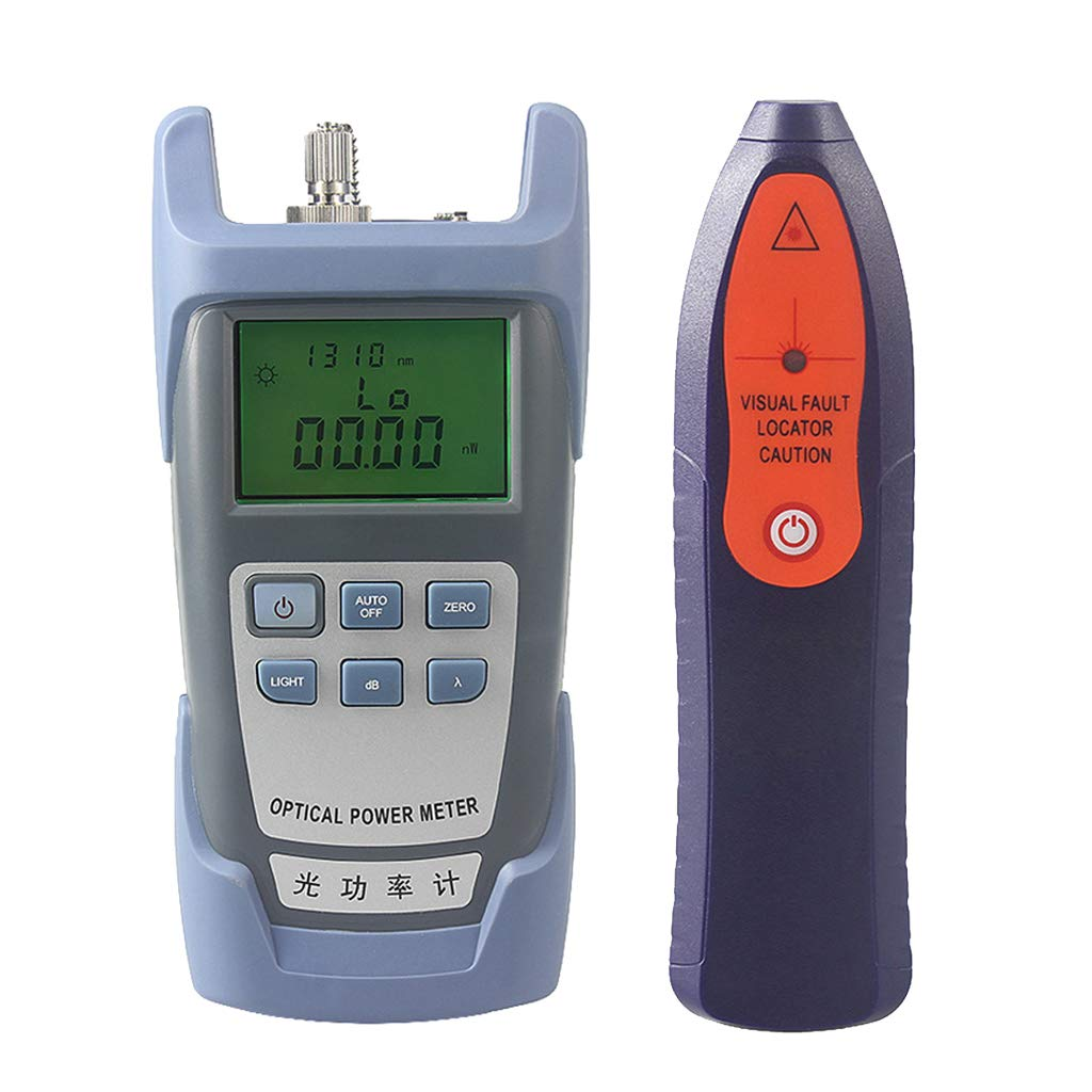 Baosity A Set Fiber Optic Cable Tester Optical Power Meter with Sc & Fc Connector Fiber Tester +1mW Visual Fault Locator for CATV Test,CCTV Test by Baosity (Image #4)