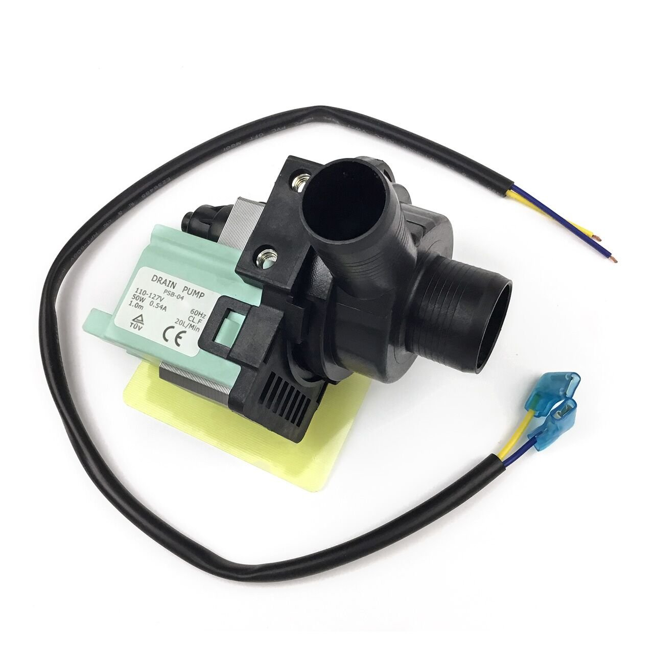 Sikawai 35-6780 Drain Pump Replacement Part Compatible with GE Magic Chef Crosley Amana Washing Machine Replacecs 21001906 35-6465 WP35-6465 21002240 1480289 AP4372886