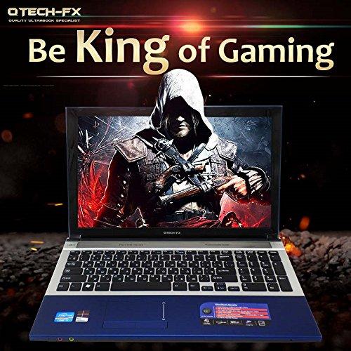 Amazon.com: 15,6 portátil juego rápido CPU Intel i7 8 GB de ...