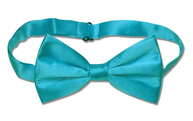 4f618ecd803 Image Unavailable. Image not available for. Color  100% SILK BOWTIE Solid  TURQUOISE ...