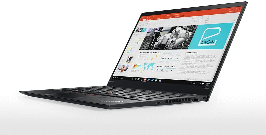 The Lenovo 20KH002FUS Thinkpad X1 Carbon travel product recommended by Will Ellis on Lifney.
