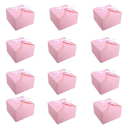 Amazon MissShorthair Gift Boxes40 Pack Solid Color Decorative Extraordinary Small Decorative Gift Boxes