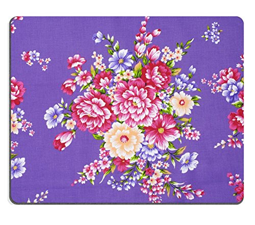Liili Mouse Pad Natural Rubber Mousepad Traditional Chinese fabric sample Photo 6002714