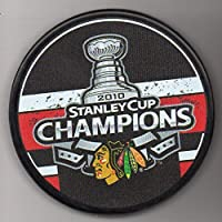 Chicago Blackhawks 2010 Stanley Cup Champions Official NHL Puck + FREE Puck Cube