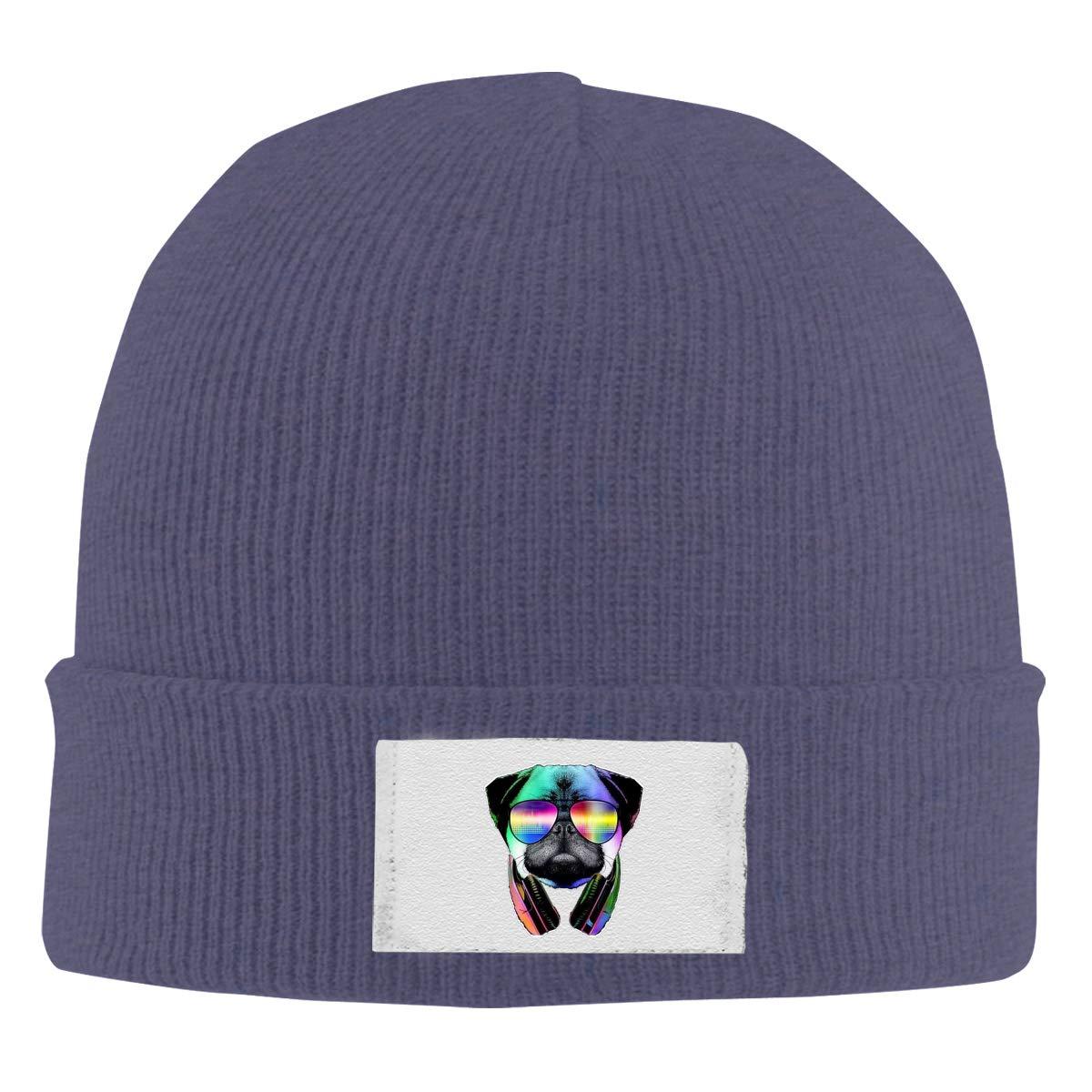 Stretchy Cuff Beanie Hat Black Dunpaiaa Skull Caps 32142037/_394 Winter Warm Knit Hats