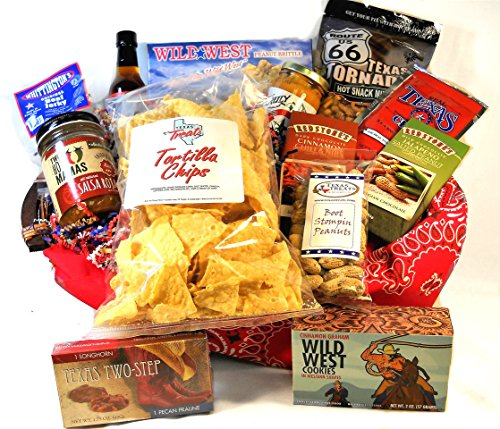 A Taste of the Wild West Food Gift Basket by Texas Treats