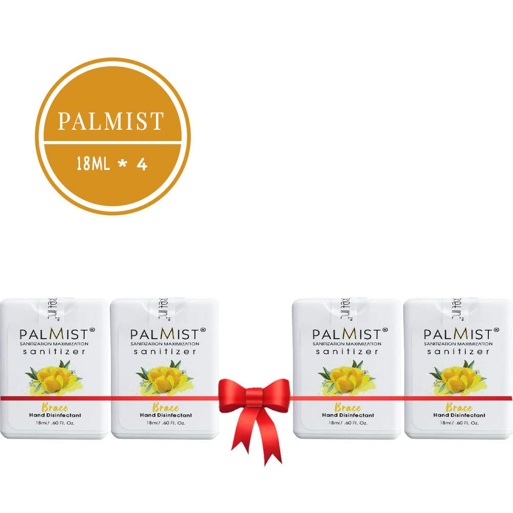 Buy Palmist Instant Hand Sanitizer Spray Combo Pack Of 4 Brace