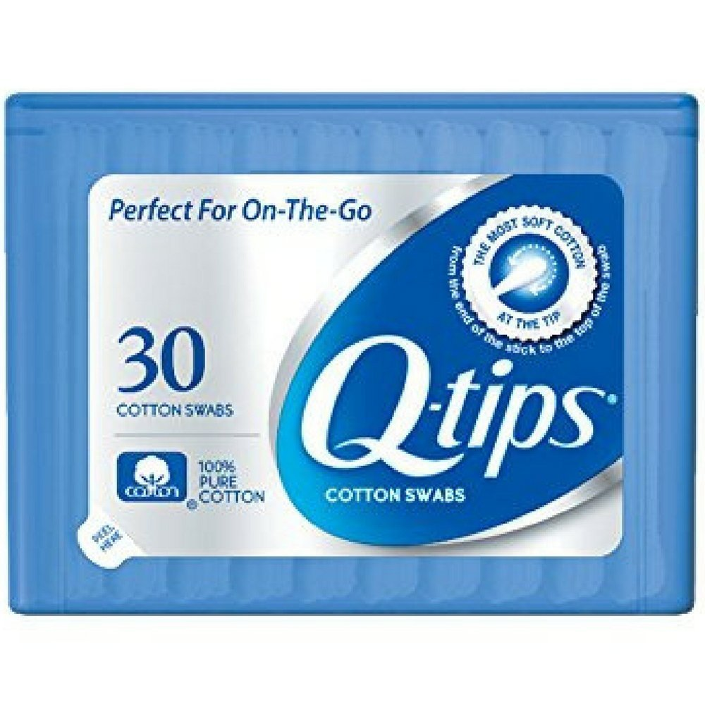 Q-Tips Cotton Swabs - Purse Pack Case Pack 36 by Q-Tips Dollar Days
