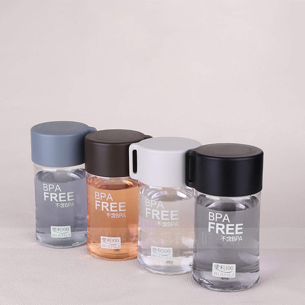 a prueba de fugas peque/ña botella de agua Botella de agua de pl/ástico de 150 ml para ni/ños port/átil