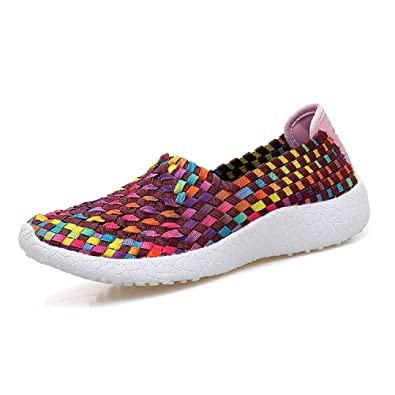 Women's Braided Breathable Flexible Sports Shoes Casual Shoes of Korean Style