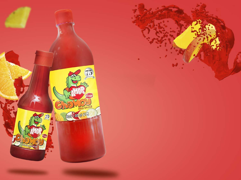 Amazon.com : Amor Salsa Chamoy Sauce by Salsas Castillo - 33 OZ : Gourmet Sauces : Grocery & Gourmet Food