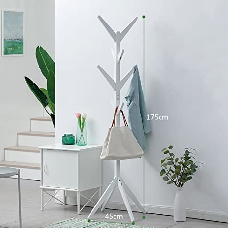 Amazon.com: Perchero Árbol Simple piso de pie Perchero Árbol ...