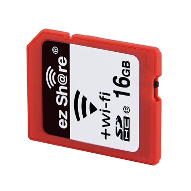 Ez Share SDHC Wifi Tarjeta de Memoria SD de 16 GB, Clase 10 ...