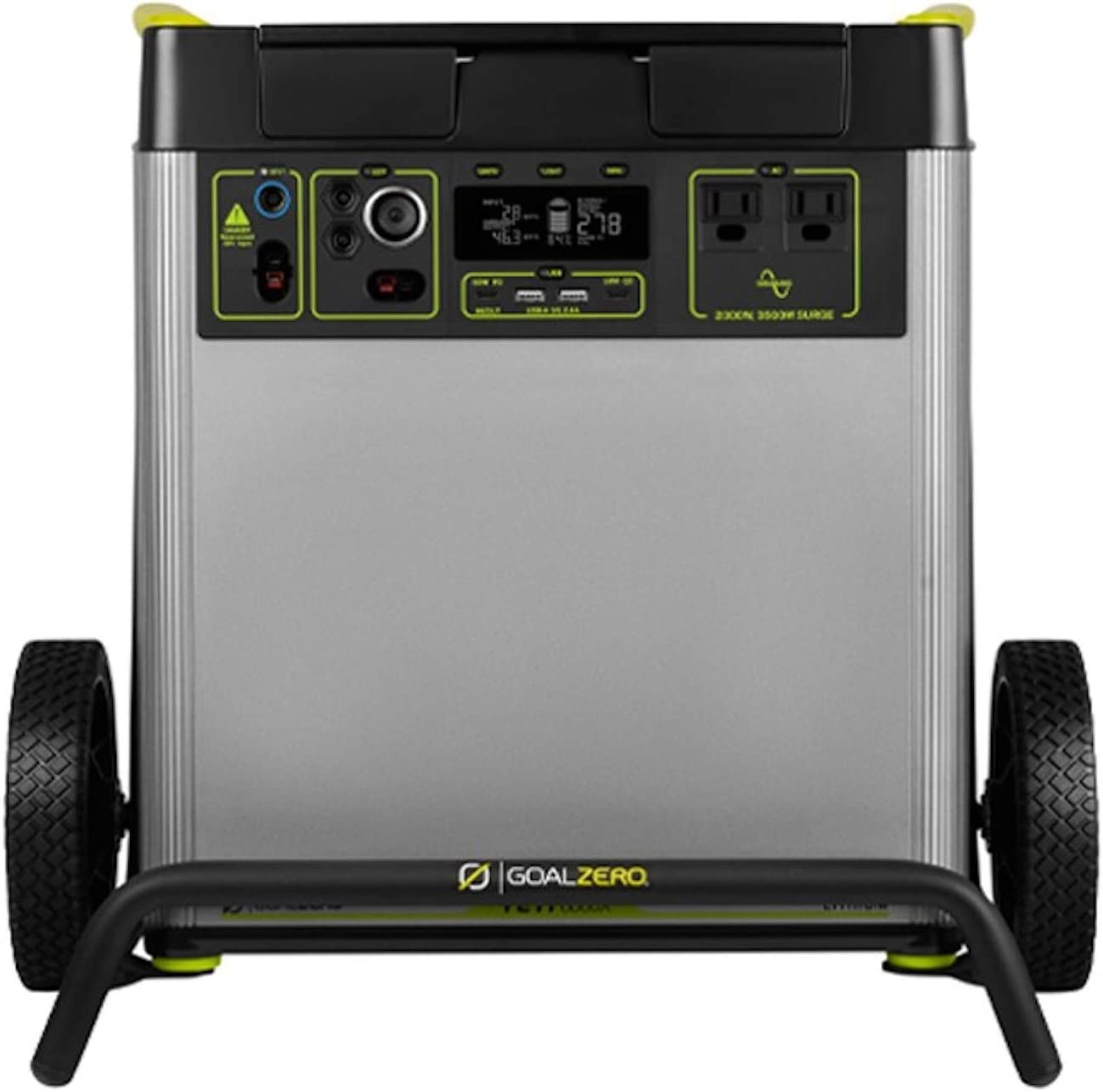 Yeti 6000X Portable Power Station, 6071Wh Portable Lithium Battery, 2000W AC Inverter Generator, Backup Power Supply Generators for Home Use, Solar Generator for Outdoor and Emergency Power Use