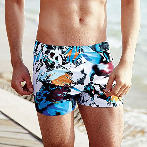 BININBOX Men's Beach Sports Swimming Swim Trunks Shorts Slim Pants Swimwears