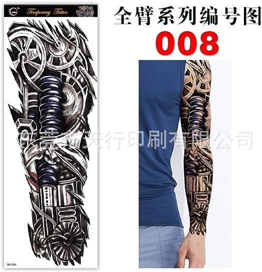 tzxdbh 5pcs Brazo Lleno Pegatinas Brazo Tatuaje protección del ...