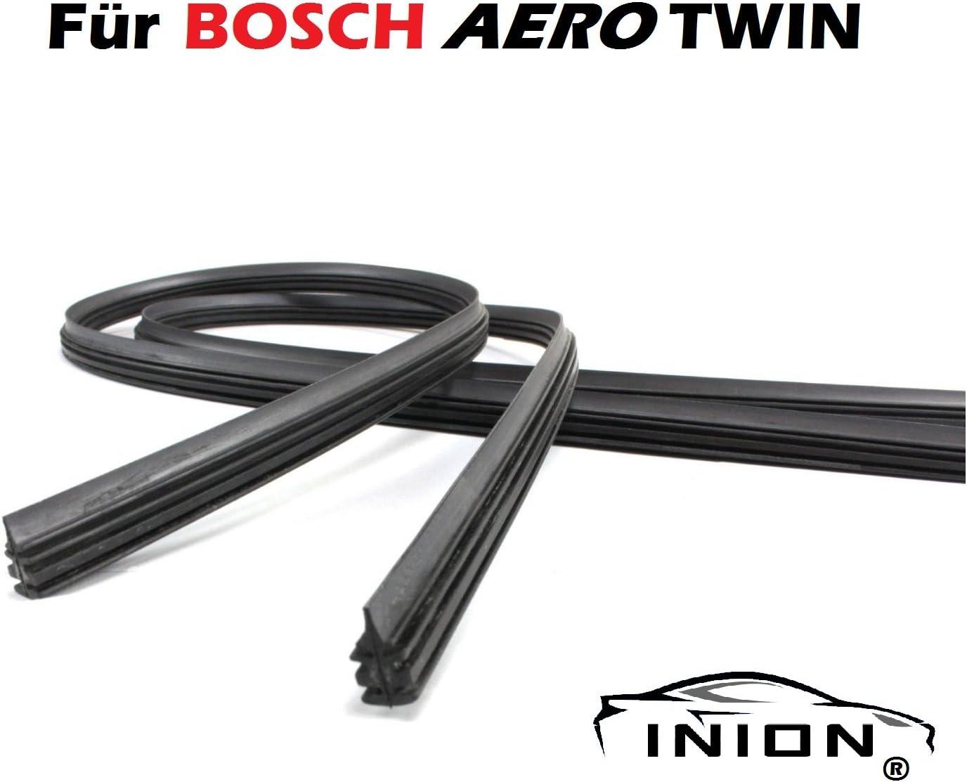 INION/® 2X Wischergummi Scheibenwischer Gummis Ersatz f/ür Bosch Aerotwin Scheibenwischer AR552S, 3397118984