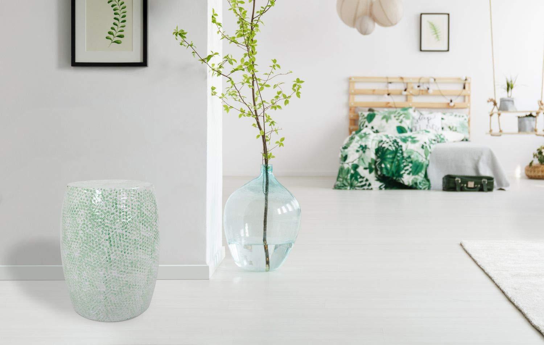 Kayoom sgabello in metallo sgabello verde bianco design moderno
