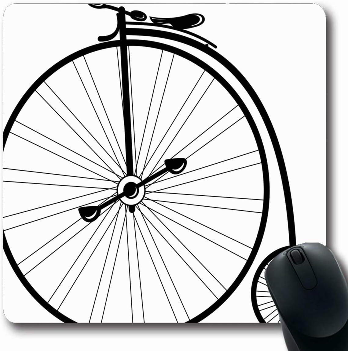 Alfombrilla para computadora Portátil Diversión Triciclo Bicicleta ...