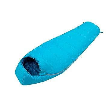 Saco De Dormir De Algodón Hueco Saco De Dormir Para Acampar Saco De Dormir Momia De Estilo,Blue: Amazon.es: Jardín