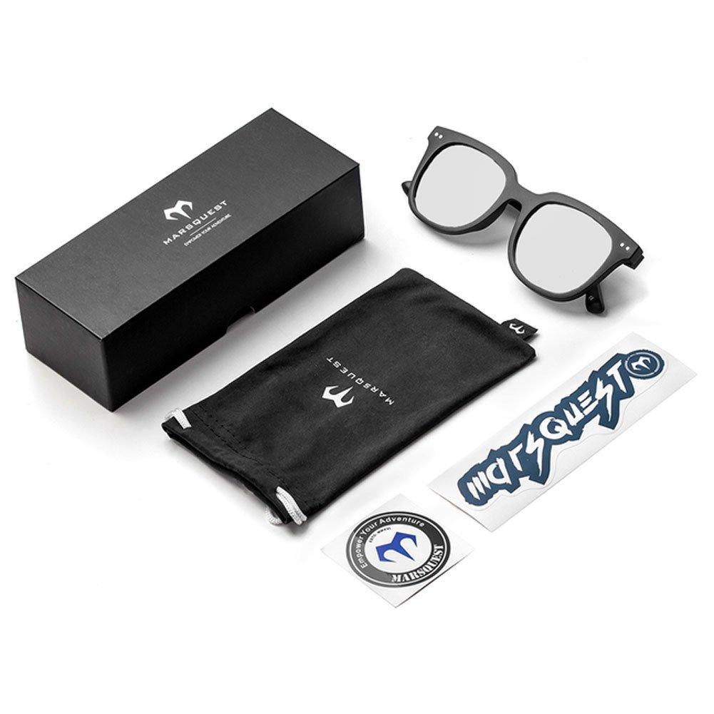c84589f799f Marsquest Unisex Gravity Polarized Carbon Black x Silver Sunglasses  Amazon. ca  Clothing   Accessories