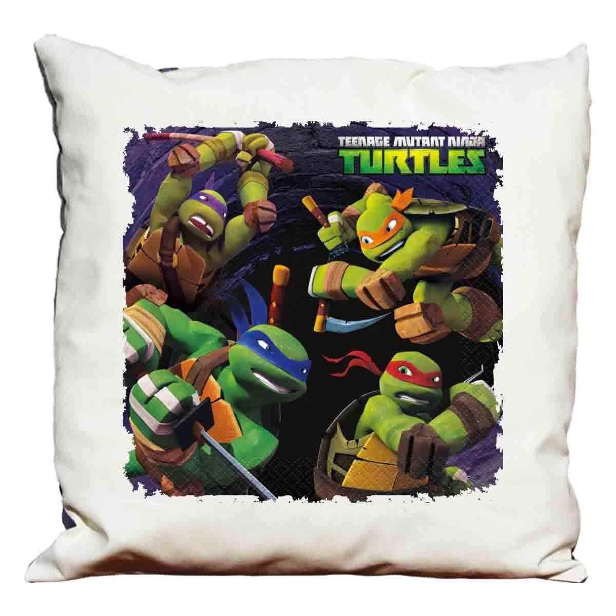 Cojín decorativo con diseño de Tortugas Ninja: Amazon.es: Hogar