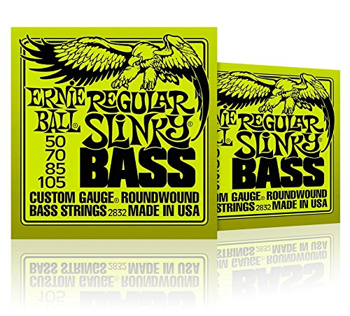 Ernie Ball 2832 Regular Slinky Round Wound Bass Strings 2