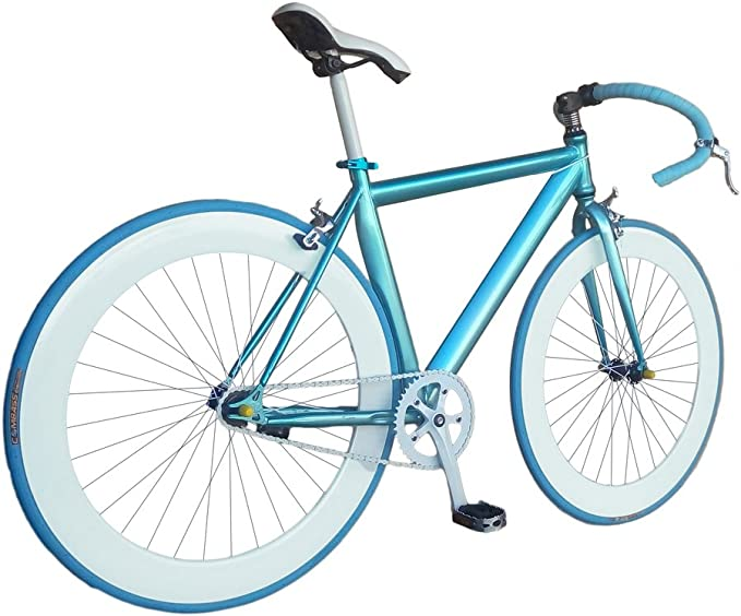 Helliot Bikes Fixie Nolita 59 Bicicleta Urbana, Hombre, Azul ...