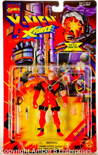 X Force DEADPOOL action figure collector