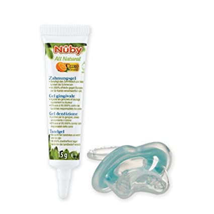 Nuby CG23015 - Todos Kombi Natural: Zahnungsgel y dentición