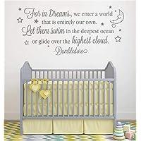 Decoratieve Sticker voor Kids Walls voor in Dreams betreden we een wereld die volledig onze eigen Laat ze zwemmen in de…