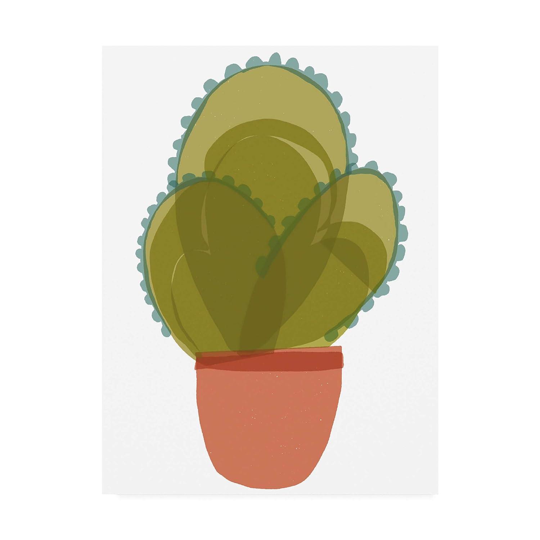Trademark Fine Art Mod Cactus I by Rob Delamater, 14x19