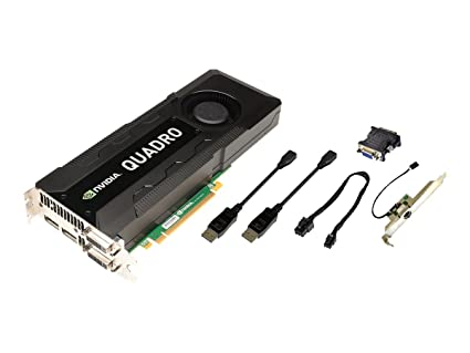 PNY VCQK5000MAC-PB Quadro K5000 4GB GDDR5 - Tarjeta gráfica (Quadro K5000, 4 GB, GDDR5, 256 bit, 4096 x 2160 Pixeles, PCI Express 2.0)