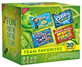 Nabisco Team Favorites Mix - Variety Pack with Cookies & Crackers, 30 Count Box, 30 Ounce