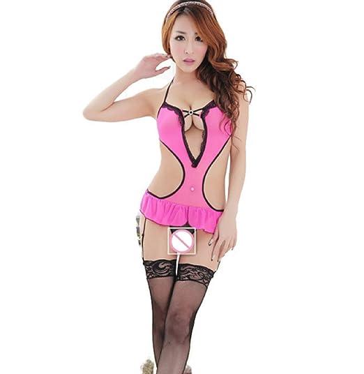 80e16a6520 Erotic Lingerie Lenceria Sexy Lingerie hot Sexy Underwear Babydoll Sleep  Wear Nightdress Sexy Dress (Freesize