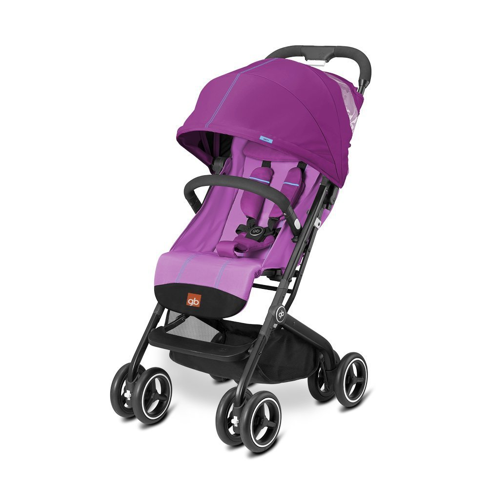 gb 2017 Buggy QBIT+ from birth up to 17 kg (approx. 4 years) Posh Pink - GoodBaby QBIT PLUS by gb (Image #1)