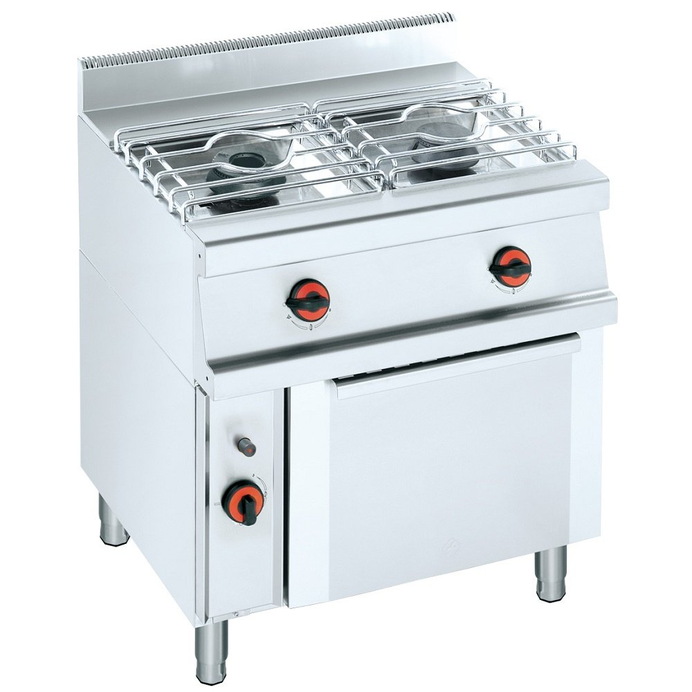 macfrin 33030b08 cocina con Gas Horno, serie 10, 800 mm x 600 mm ...