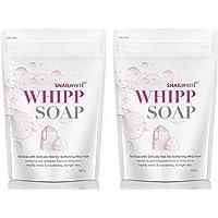 Snail White X2 WHIPP FACIAL SOAP SOFTEN WHIPP BRIGTH WHITE 100g
