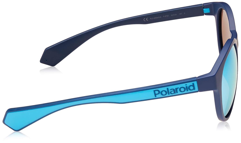 Polaroid Eyewear Pld 6063//G//S Montures de lunettes Multicolore Blue 52 Mixte Adulte